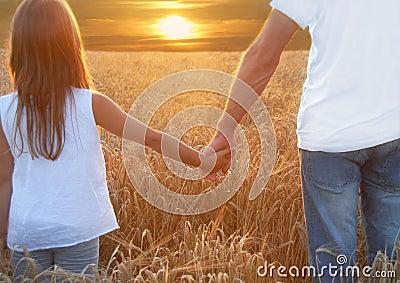 Hands and  barley