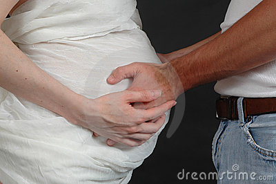 Hands on Belly