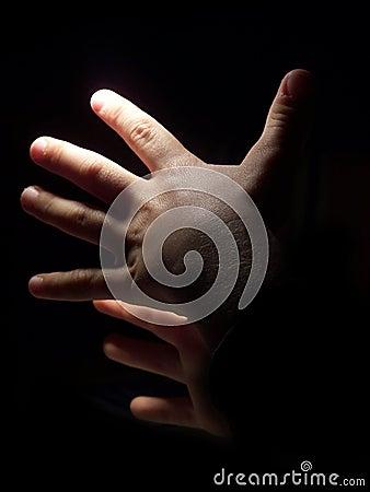 Hands in Dark