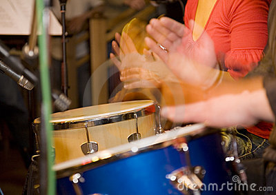 Hands and drums