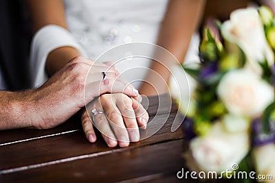 Hands enamoured