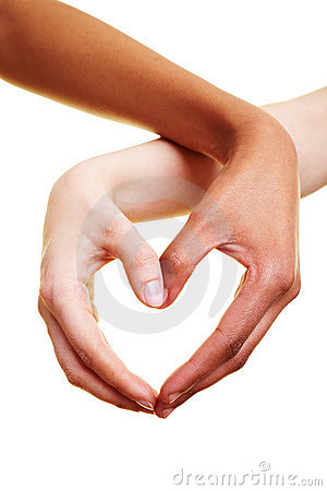 Free Hands Forming A Heart Stock Photos - 14879093