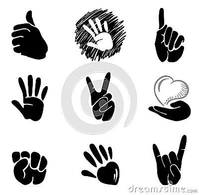 Hands and gestures