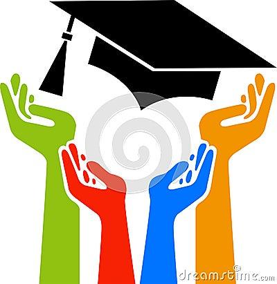 Hands graduation