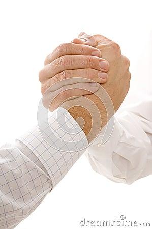 Hands Gripping