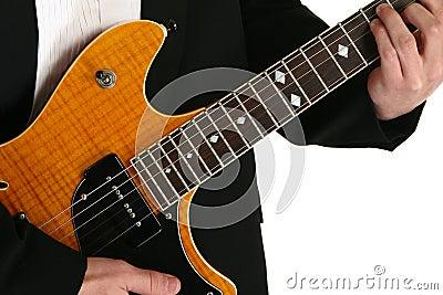 Hands on a Guitar