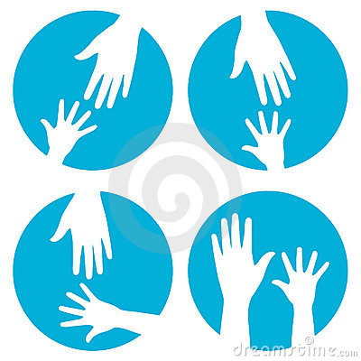 Free Hands Help - Icon Set Stock Photos - 17532763