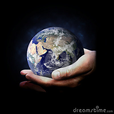 Hands Holding Earth Royalty Free Stock Photo - Image: 2595255