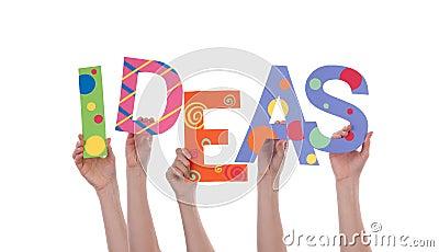 Hands Holding IDEAS
