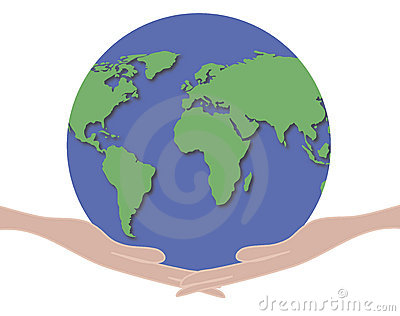 Hands Holding World 1