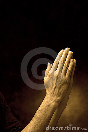 Free Hands In Prayer Praying Royalty Free Stock Photography - 9616627