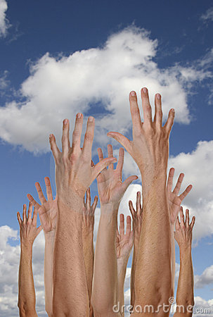 Free Hands In The Heavens Royalty Free Stock Photos - 1731178