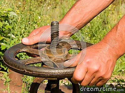 Hands  man s,  tool   wheel