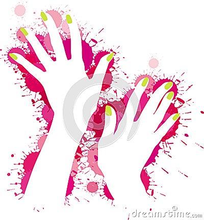 Hands model pattern