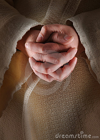 Free Hands Of Jesus Stock Images - 3879774