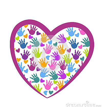 Free Hands Of Love Logo Stock Photos - 35973163