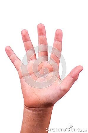 Of hands
