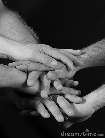 Hands piramyd