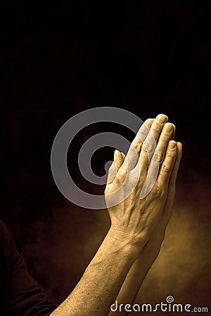 Hands In Prayer Praying