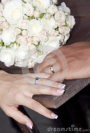 Hands And Rings Stock Photos - Image: 21468513