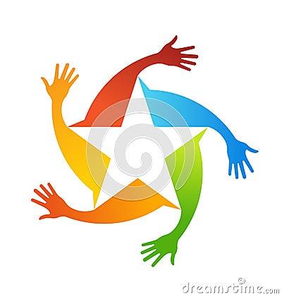 Hands star