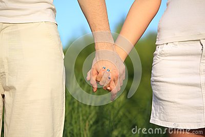 Hands to be held for each other