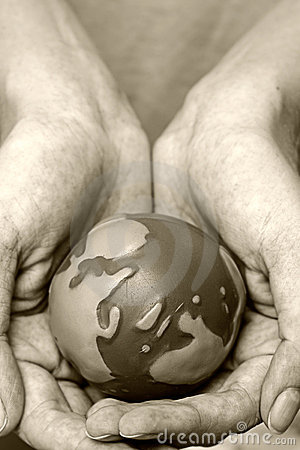 Hands världen