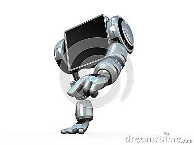 Hands Walking Robot