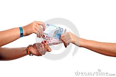 Hands width cash