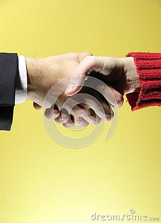 Handshake 4 Stock Photo