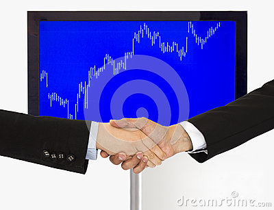 Handshake agreement investment in economic
