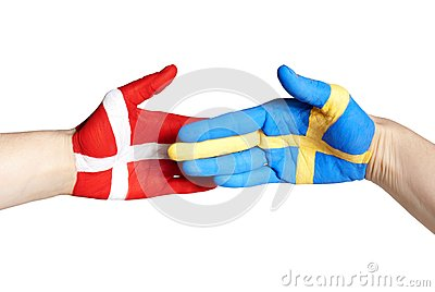 Danish swedish handshake