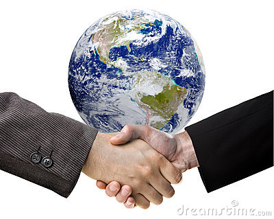 Handshake and The Earth