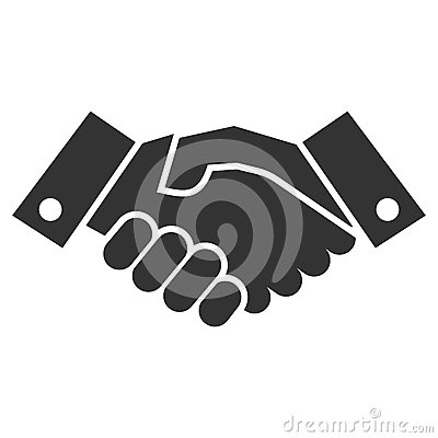 Free Handshake Icon Royalty Free Stock Images - 46707969