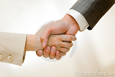 Handshake Of Partners Royalty Free Stock Photos - Image: 12184398