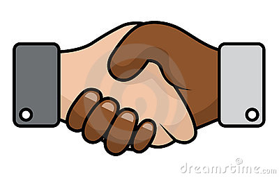 Handshake race relations