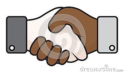 Handshake race relations