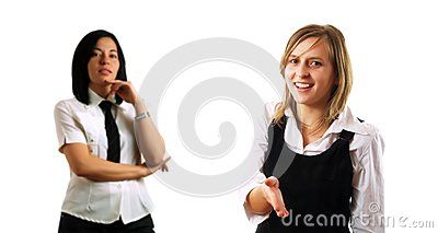 Handshaking med partners