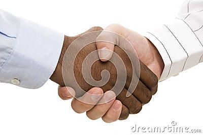 Handskakning