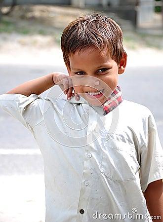 Handsom kid