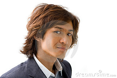 Handsome Asian guy