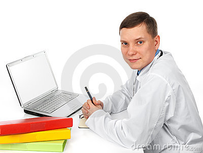 Handsome Doctor Royalty Free Stock Photography - Image: 14739137