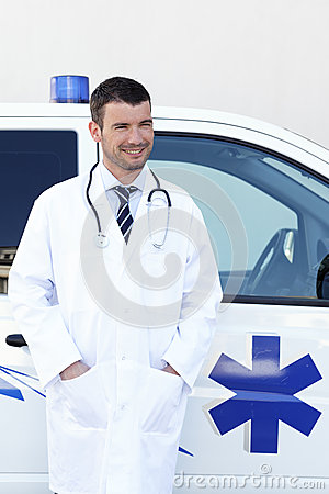 Handsome doctor