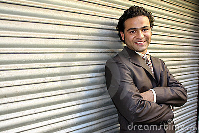 Handsome Indian Businessman