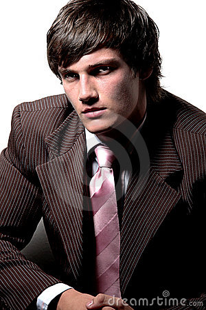 Free Handsome Man In Suit Royalty Free Stock Image - 2031216