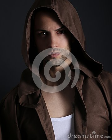 Free Handsome Man With Hood Stock Photos - 102031893