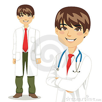 Handsome Professional Doctor
