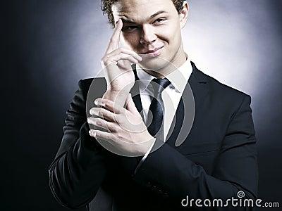 Handsome stylish man