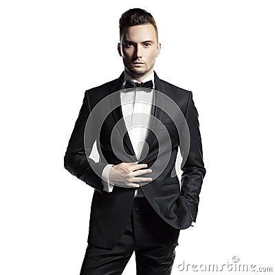 Free Handsome Stylish Man Stock Images - 42613644