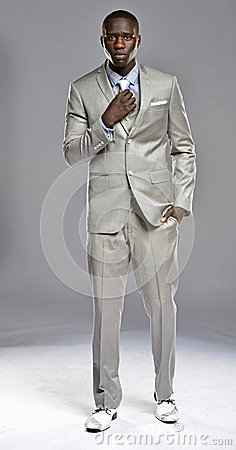 Black Man In A Suit Royalty Free Stock Images - Image: 30285639